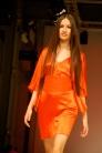 Mandarin tangó színű ruha. / Mandarin tango dress.