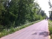 Bicikliút visszafelé / bike lane