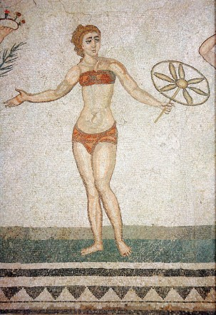 Már az ókori rómaiak is hordtak bikinit :) / Ancient Romans were wearing bikinies too :)