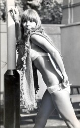 Horgolt bikini 1969-ből / Crochet bikini from 1969